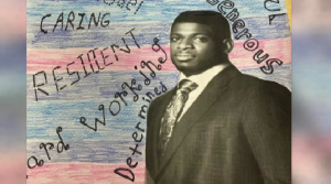 P.K. Subban featured in student's art project