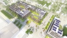 An artist's rendition of the plan for the former Victoria Hospital lands is seen in this illustration.