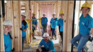According to Habitat for Humanity Fredericton Area's website, they've housed 27 New Brunswick families to date and plan to build seven new homes for deserving families in Fredericton, Oromocto, Minto, and Edmundston. (Photo courtesy: Habitat for Humanity Fredericton Area)