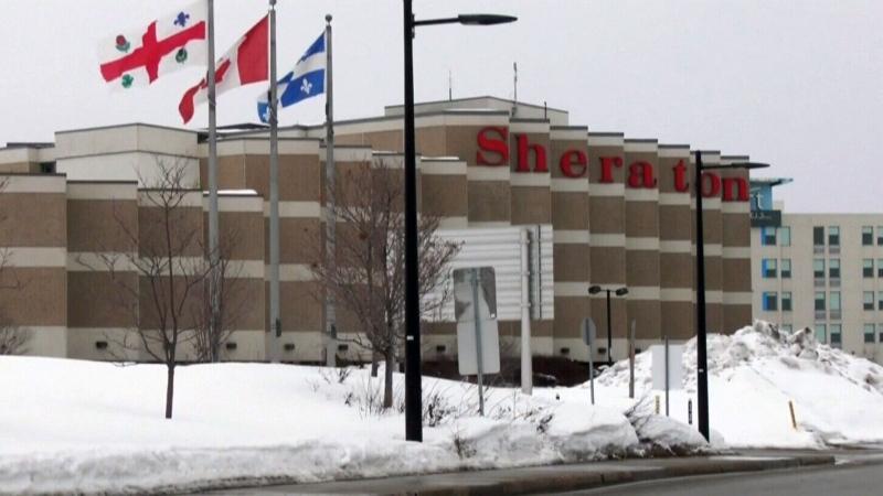 Montreal quarantine hotel