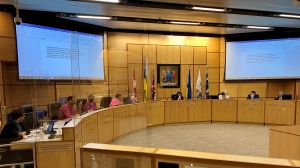 Regina City Council met to discuss vehicle for hire regulations, transit passes and efficiency review. (Gareth Dillistone / CTV Regina)