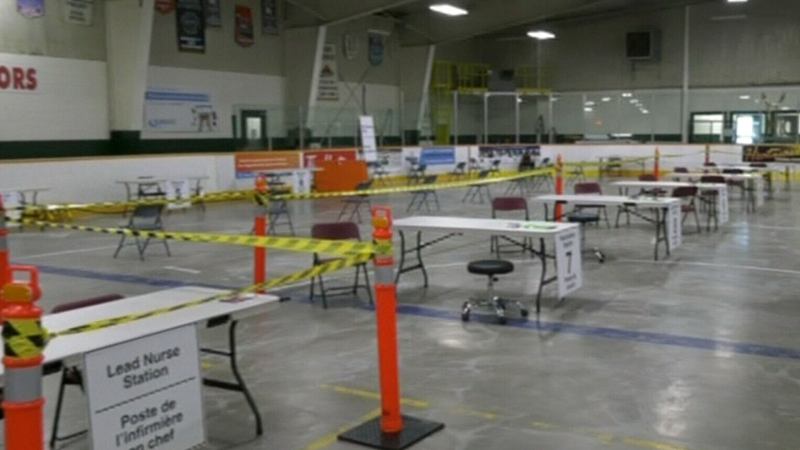 Arena in Sudbury to host COVID vaccinations