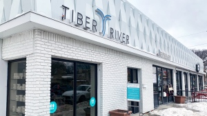 Tiber River Naturals is facing a lawsuit from a former employee who alleges she was wrongfully dismissed because she was pregnant. (Source: Scott Andersson/ CTV News Winnipeg)