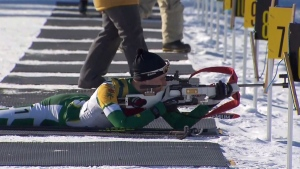 Regina biathlete on the world stage