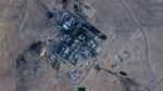 This Monday, Feb. 22, 2021 satellite photo from Planet Labs Inc. shows construction at the Shimon Peres Negev Nuclear Research Center near the city of Dimona, Israel. (Planet Labs Inc. via AP)