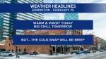 Feb. 25 weather