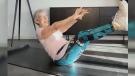 81-year-old grandma posting amazing workout videos