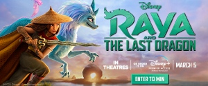 Raya and the Last Dragon Package Giveaway Rotator