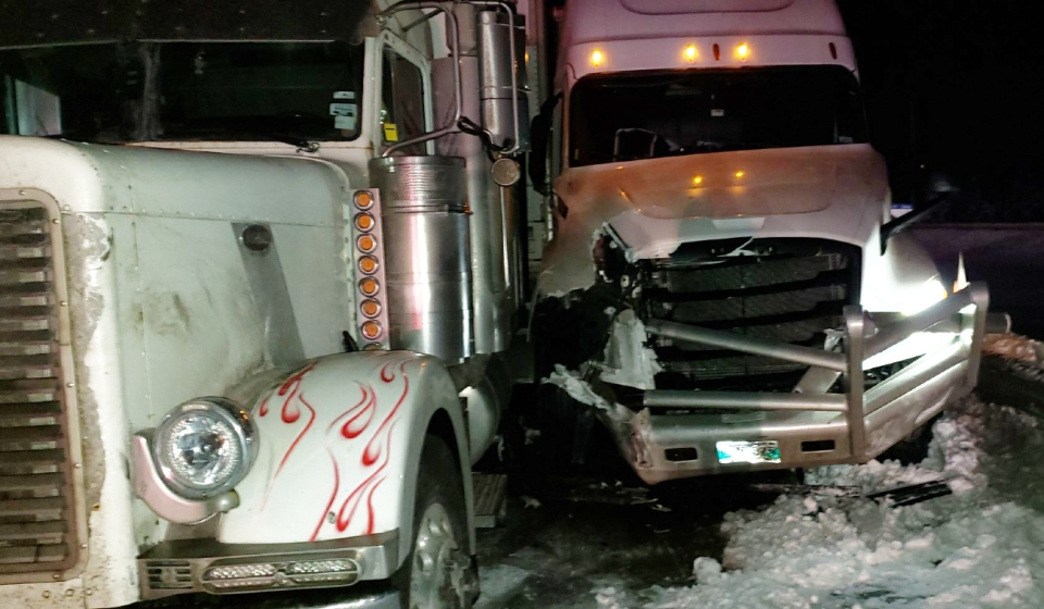 North Bay Ontario Provincial Police said Thursday that Highway 11 south in Callander has reopened after a multi-vehicle crash. (Supplied)