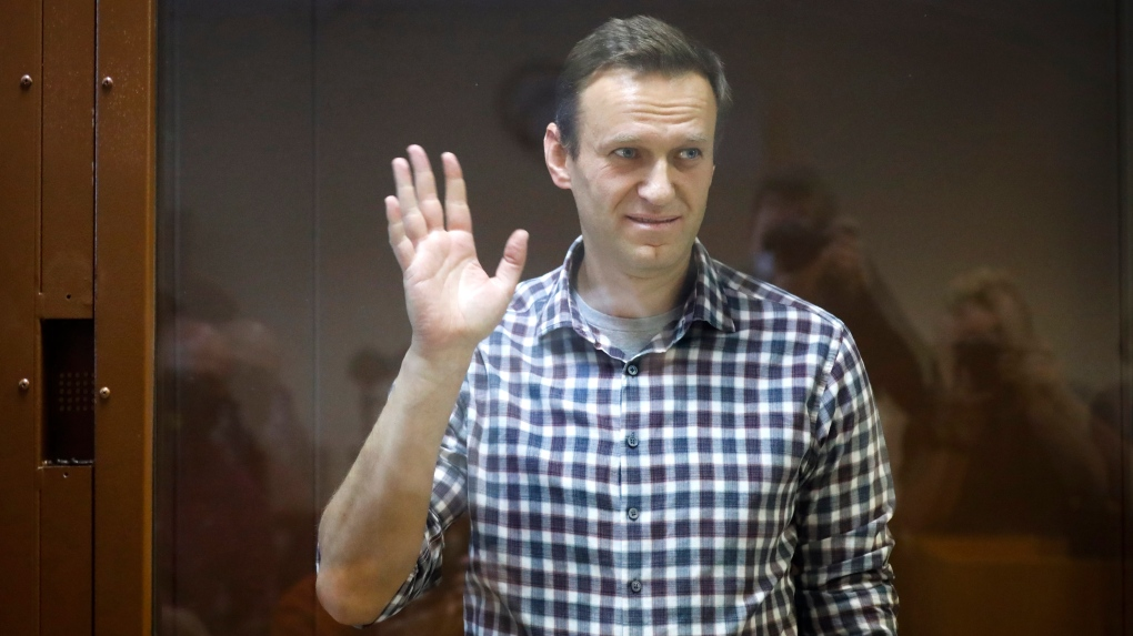 Navalny in Vladimir region east of Moscow to serve prison term
