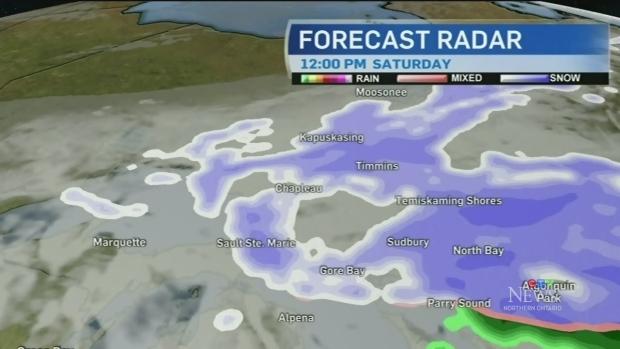 Cold temperatures return to northeastern Ontario