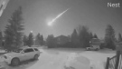 U of A researchers have learned more about a short-lived fireball that streaked across the sky early Monday morning.