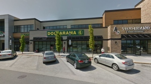 The assault took place outside of the Dollarama in Port Place Mall on Wednesday evening: (Google Maps)