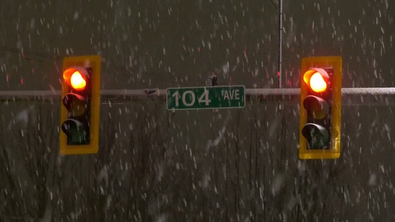 Snowfall warnings issued in parts of southern B.C.