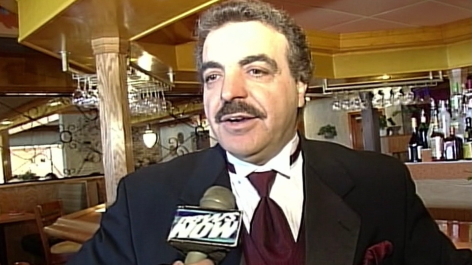 John Panos, former owner of the Seven Dwarfs restaurant in London, Ont. is seen in this file photo from video.