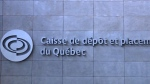 Caisse pension fund dips