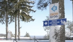 Laurentian Ski Hill in North Bay remains closed although many hills across the province have opened, but with some amenities reopening in the city, people still have the opportunity to get outside. (Alana Pickrell/CTV News)