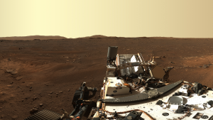 Rover sends back a 360-degree view of Mars