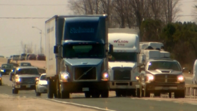 Testing truck drivers