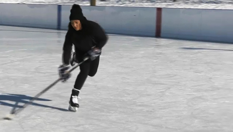 Saroya Tinker launched a scholarship fund to encourage Black girls to play hockey. The GoFundMe campaign has already raised over $31,000