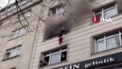 Dramatic, dangerous escape from fire in Turkey