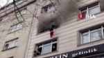 Dramatic, dangerous escape from fire in Turkey