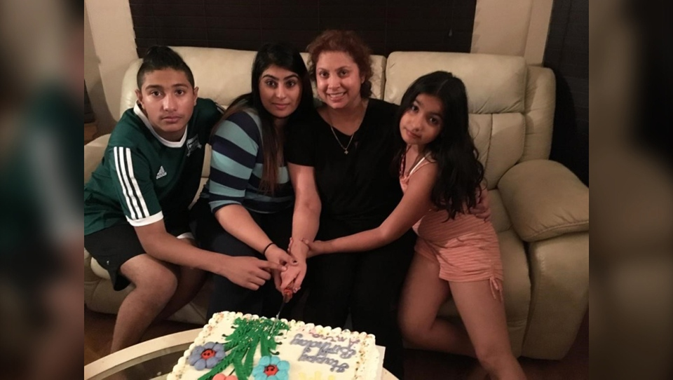 Anjna, Sharma, family, James, Beagrie, killed