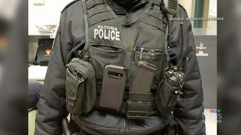 Altona police now wearing body cameras