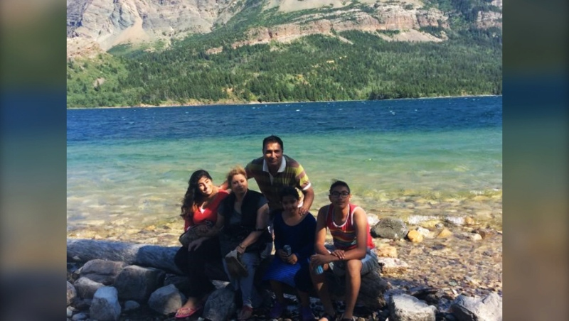 A Calgary family mourned the loss of their mother Anjna Sharma Thursday when the man convicted of killing her with his truck was sentenced