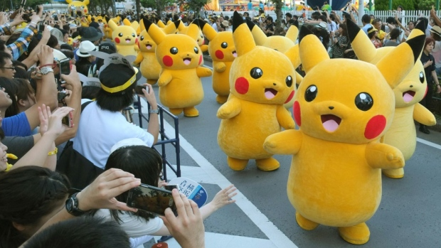 Red-cheeked Pikachu is instantly recognisable around the world as one of the best-known Pokemon. (AFP)