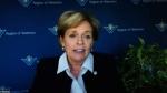 Region of Waterloo Chair Karen Redman presents the 2021 State of the Region virtual address.