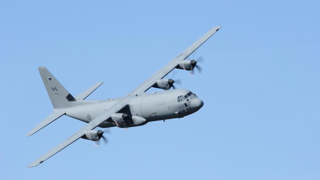RCAF CC-130J Hercules military plane