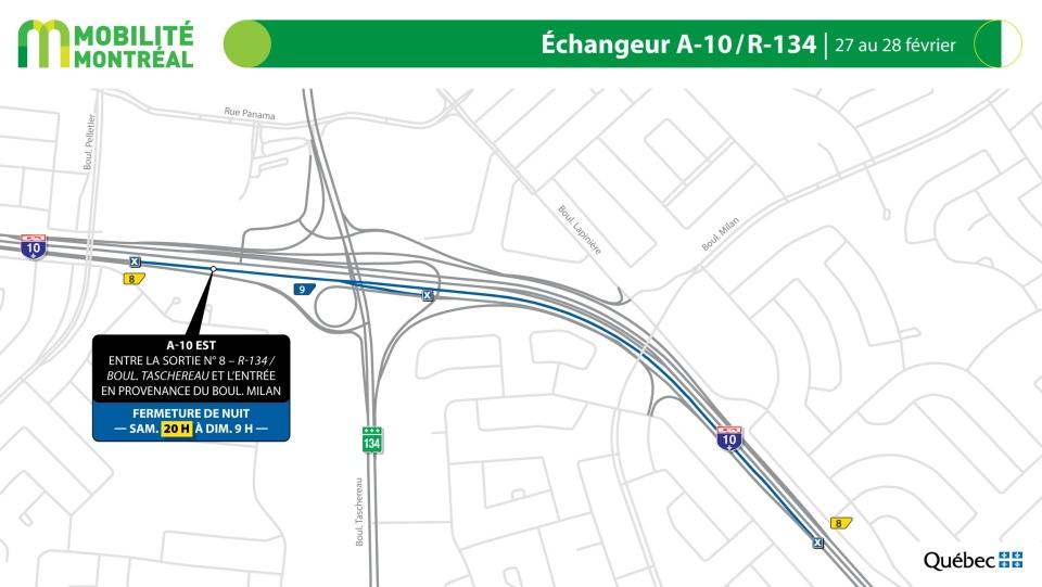 Highway 10 closures Feb. 27-28