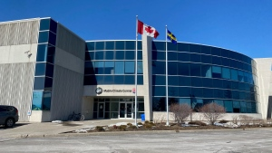 Mobile Climate Control in Vaughan, Ont. is seen in this photograph taken on Feb. 26, 2021. (Tom Podolec/CTV News Toronto)
