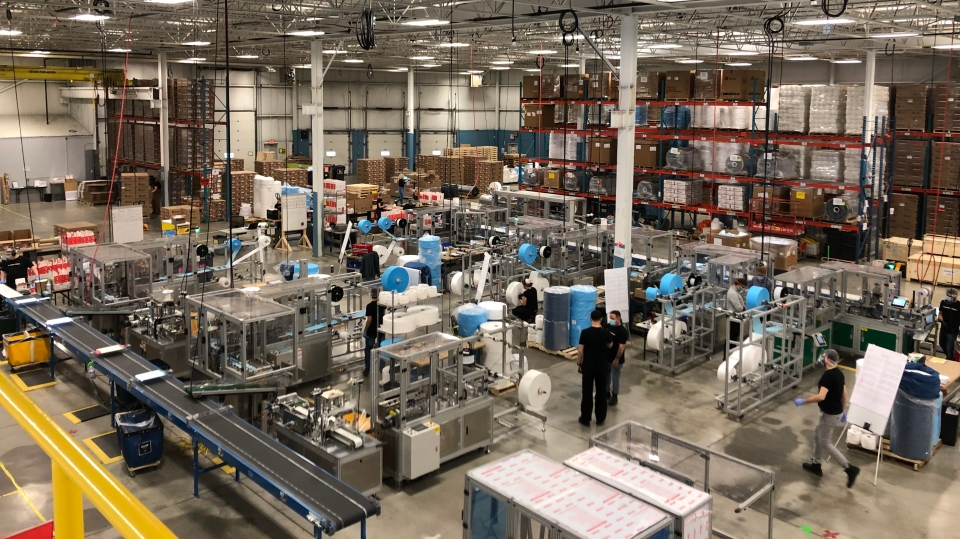 The Canadian Shield manufacturing plant