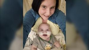 Nicole Banman and her son, Brodie. (Courtesy Nicole Banman)