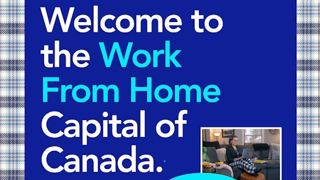 Owen Sound work from home campaign