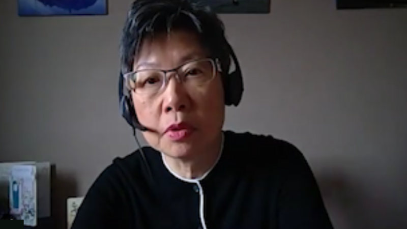 Screenshot from video interview University of Manitoba professor and human rights expert Maria Cheung gave CTVNews.ca on Feb. 24, 2021.