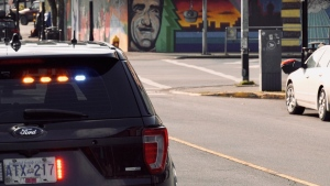 A woman has since been arrested for an alleged hit-and-run in Nanaimo: (CTV News)