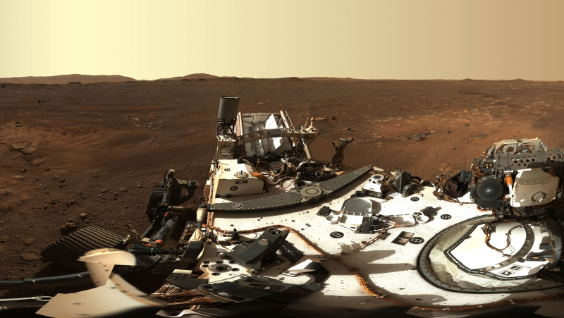 While we've seen panorama images from previous rover missions, Perseverance's high definition cameras are revealing details from Mars like we've never seen before. (NASA/JPL-Caltech via AP)