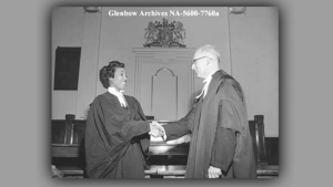 Alberta's Violet King Henry was the first Black female lawyer in Canada.