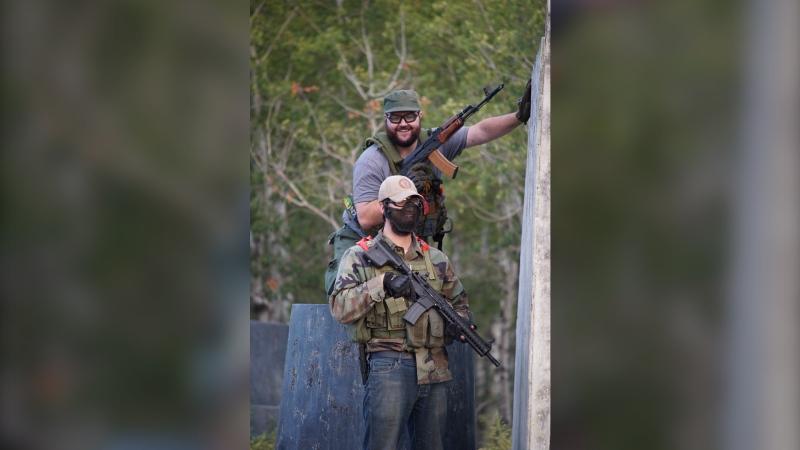 Jason Urban says airsoft guns are closer to Nerf guns than real firearms. (Photo courtesy Jason Urban)