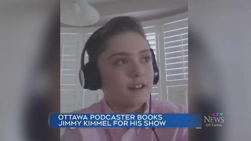 Ottawa podcaster books Jimmy Kimmel for his show