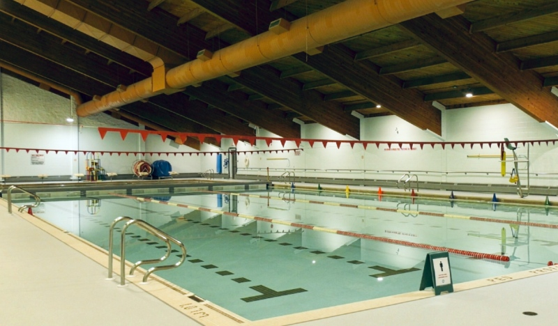 Swimmers can look forward to a number of upgrades when the Archie Dillon Sportsplex swimming pool in Timmins reopens, but be sure to check the COVID protocols before coming. (Lydia Chubak/CTV News)
