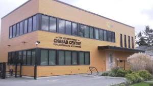 The Chabad Centre for Jewish Learning in Victoria is shown.