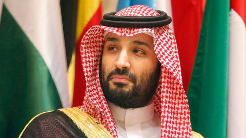 Saudi Crown Prince Mohammed bin Salman poses during a group picture ahead of Islamic Summit of the Organization of Islamic Cooperation (OIC) in Mecca, Saudi Arabia, early Saturday, June 1, 2019. (AP / Amr Nabil)