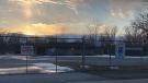 Gates at Little River golf course in Windsor, Ont. on Friday, Feb. 26, 2021. (Angelo Aversa/CTV Windsor)