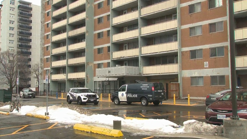 A man has serious injuries following a stabbing in Scarborough Saturday morning.