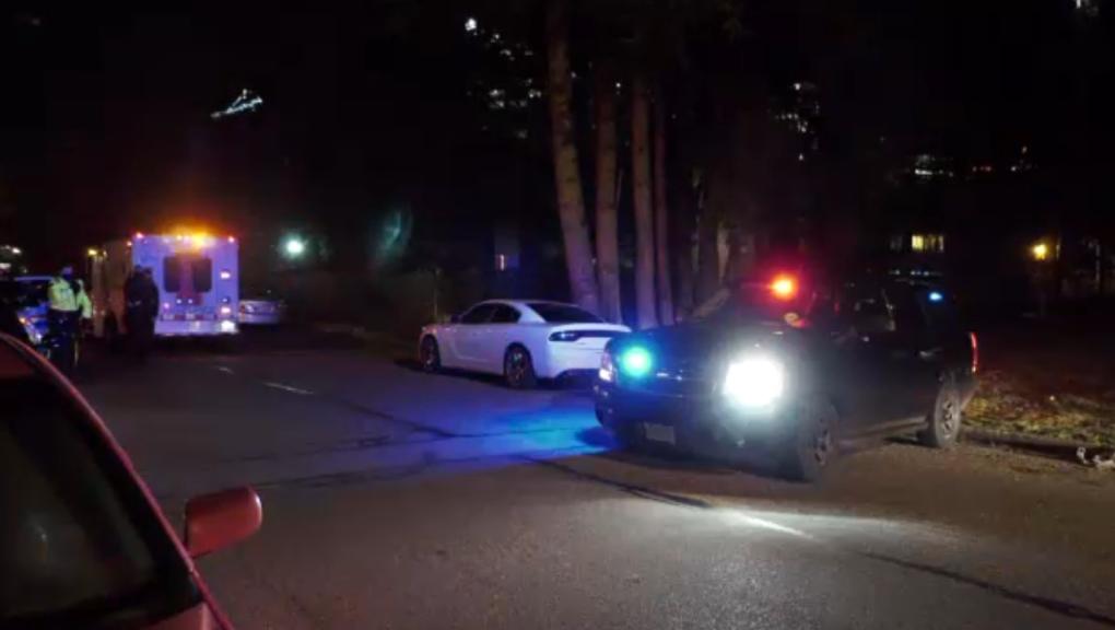Surrey arrest scene