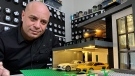 Sharif Alshurafa was inspired by his architect father to construct intricate Lego creations. (Gareth Dillistone/CTV News)